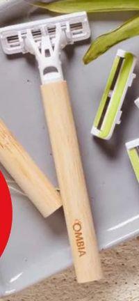 3-Klingen-Bambus-Rasierer von Ombia