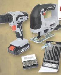 Akku-Werkzeugsatz von Brüder Mannesmann Werkzeuge