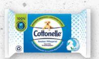 Feuchte Toilettentücher von Cottonelle