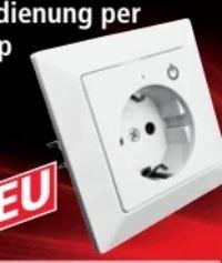 WIFI-Unterputzsteckdose von Powertec Energy
