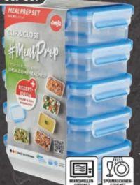 Frischhaltedosen-Set Clip & Close Mealprep von emsa
