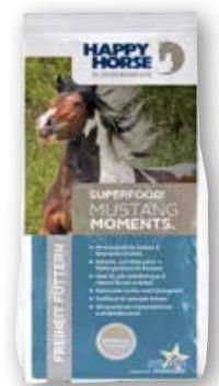 Superfood Mustang Moments Pferdefutter von Happy Horse