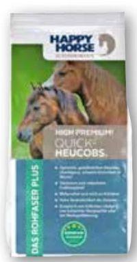 Superfood Quick Heucobs Pferdefutter von Happy Horse