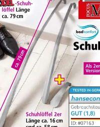 Edelstahl-Schuhlöffel von Bad Komfort by Schütte
