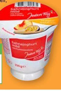 Sahne-Joghurt von Jeden Tag