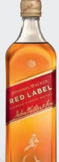 Red Label Blended Scotch Whisky von Johnnie Walker