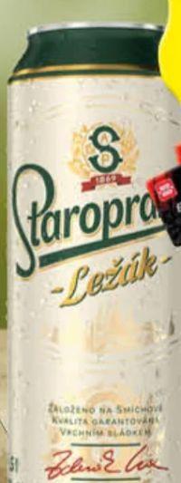 Bier von Staropramen