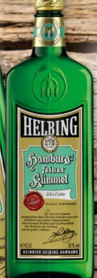 Hamburgs feiner Kümmel von Helbing