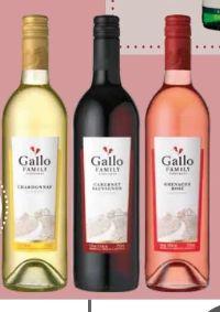 Californische Weine von Gallo Family Vineyards