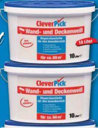 Wand- und Deckenweiß von CleverPick