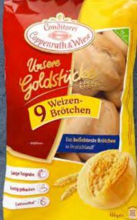 Unsere Goldstücke 9 Weizenbrötchen von Coppenrath & Wiese