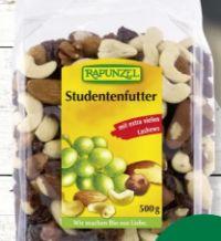 Bio Studentenfutter von Rapunzel