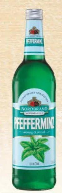 Pfefferminzlikör von Nordbrand Nordhausen