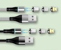 Magnetische USB-Kabe von Setty