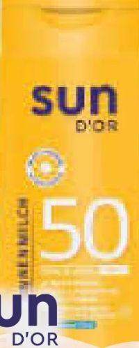 Sonnenmilch LSF 50 von Sun D'Or