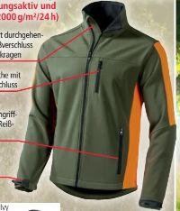 Jagd- und Freizeit Softshell-Jacke von Top Tex