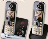 Schnurlos-DECT-Telefon KX-TG6722 Duo von Panasonic