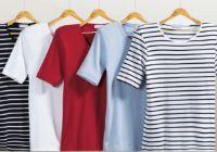 Damen Streifen-T-Shirt von K Town