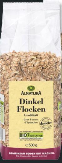 Bio-Dinkel Flocken von Alnatura