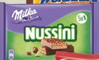 Nussini Minis von Milka