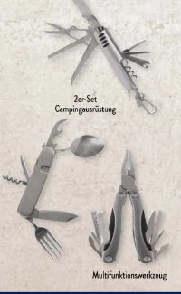 Campingbesteck von Adventuridge