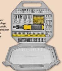 Schraub- und Bitsatz 101 tlg. von Brüder Mannesmann Werkzeuge