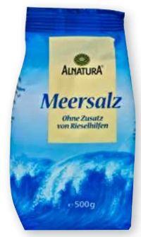 Bio-Meersalz von Alnatura