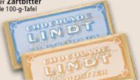 Tafelschokolade von Lindt