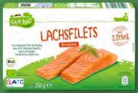 Bio-Lachsfilets von Gut Bio