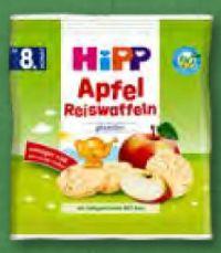 Bio Apfel Reiswaffeln von HiPP