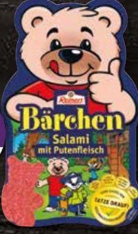 Bärchen-Salami von Reinert