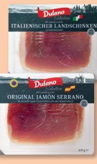 Selection Mediterranes Schinkensortiment von Dulano