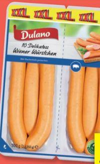Delikatess Wiener Würstchen XXL von Dulano