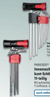 Innensechsrund-Schlüsselsatz von Parkside