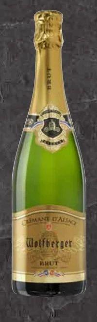 Crémant d'Alsace Brut von Wolfberger