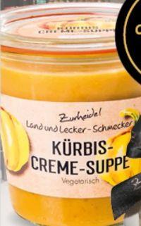 Kürbis Cremesuppe von Zurheide