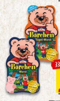 Bärchen-Wurst von Reinert