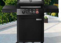 Gasgrill Boston Black Pro 3 SKIR Turbo von Enders