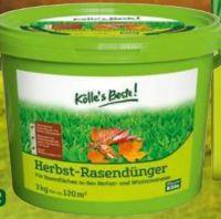 Herbst-Rasendünger von Kölle's Beste