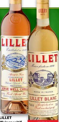 Wein-Aperitif von Lillet