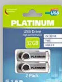 USB-Sticks von Platinum Speicherkarte