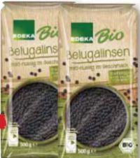 Bio Belugalinsen von Edeka Bio