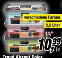 Trend Akzent Color von Profitan