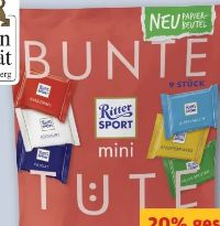 Bunte Tüte von Ritter Sport