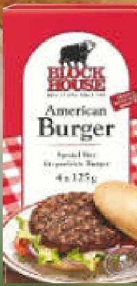 American Burger Scheiben von Block House