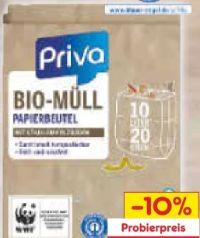 Bio-Papiermüllbeutel von Priva