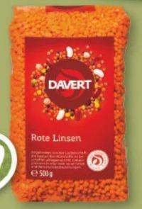 Bio Rote Linsen von Davert