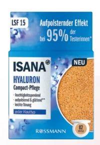 Hyaluron Compact Pflege von Isana
