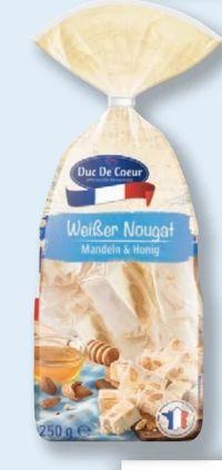 Weißer Nougat von Duc De Coeur