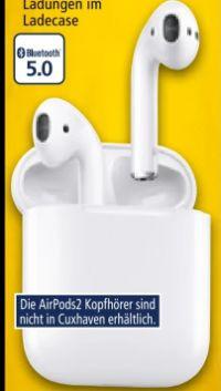 Bluetooth- Kopfhörer Airpods 2 von Apple